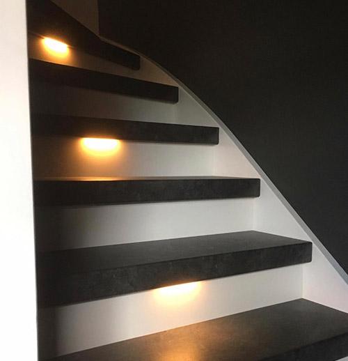 Trapverlichting van Flexstairs